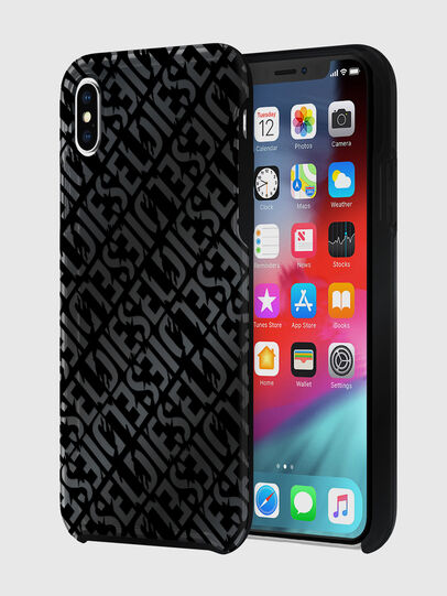 Diesel - DIESEL PRINTED CO-MOLD CASE FOR IPHONE XS MAX, Black - Cases - Image 1