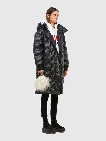 Diesel - W-LALLA, Black - Winter Jackets - Image 6