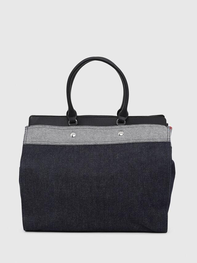 Diesel - F-DESTAR SHOPPER M, Blue Jeans - Shopping and Shoulder Bags - Image 2