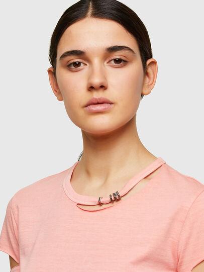 Diesel - T-BULLOCK-A1, Pink - T-Shirts - Image 3