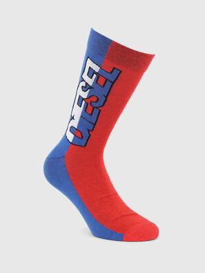 SKM-RAY, Blue/Red - Socks