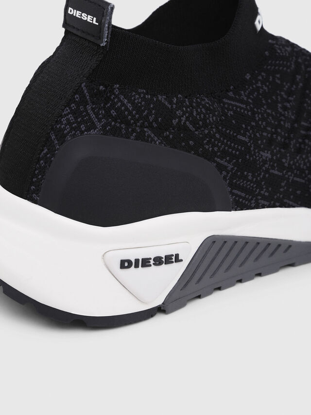 Diesel - S-KB ATHL SOCK, Black/Violet - Sneakers - Image 5