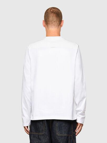 Diesel - T-TASK-LS, White - T-Shirts - Image 2