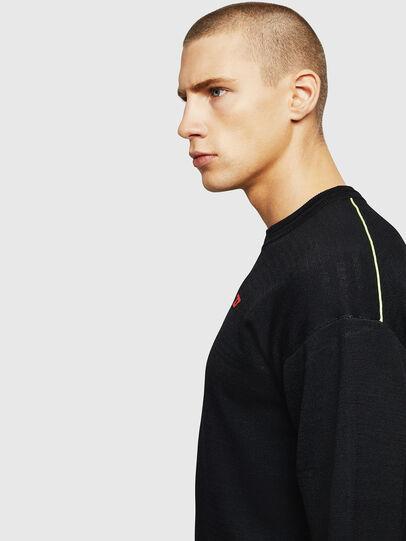 Diesel - K-TOMM, Black - Knitwear - Image 3