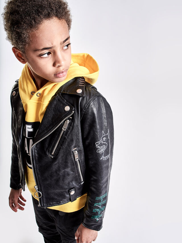 Diesel - JLWILL, Black Leather - Jackets - Image 4