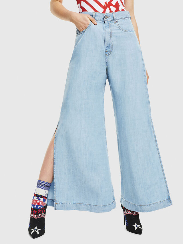Diesel - DE-MATYN, Light Blue - Pants - Image 1