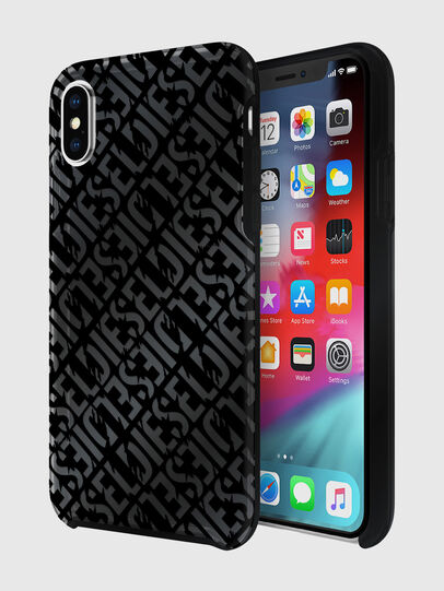 Diesel - DIESEL PRINTED CO-MOLD CASE FOR IPHONE XS & IPHONE X, Black - Cases - Image 1