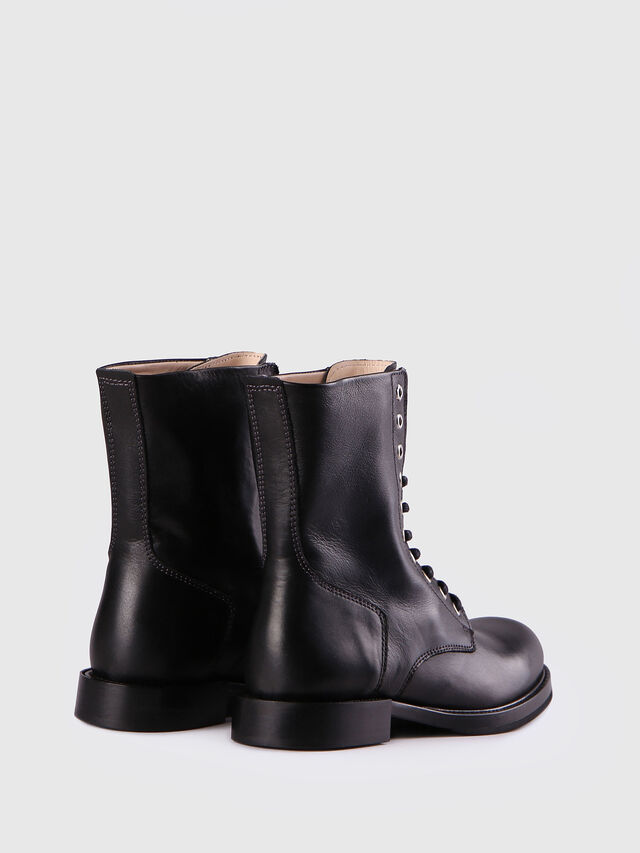 Diesel D-KOMB BOOT CB, Black Leather - Ankle Boots - Image 3