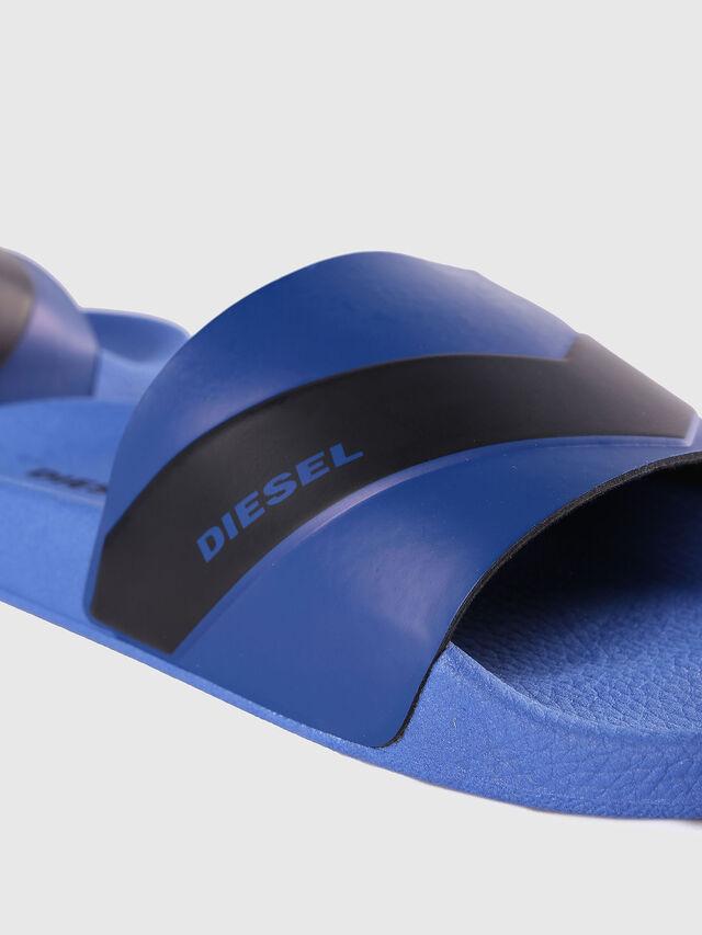 Diesel SA-MARAL, Blue - Slippers - Image 4