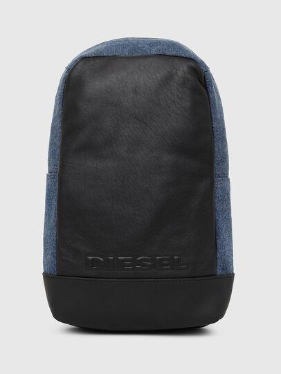 Diesel - F-SUSE MONO, Blue/Black - Backpacks - Image 1