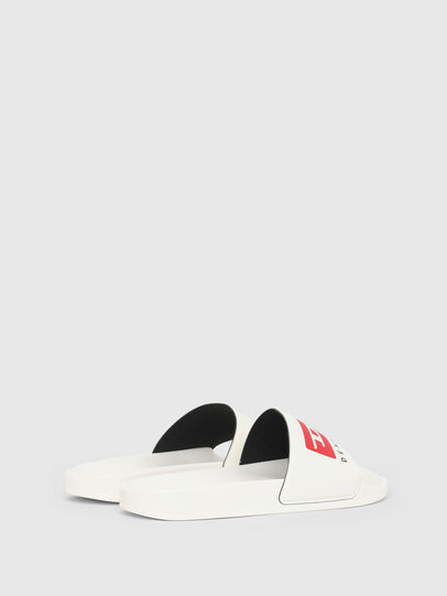 Diesel - SA-MAYEMI PW, White - Slippers - Image 3