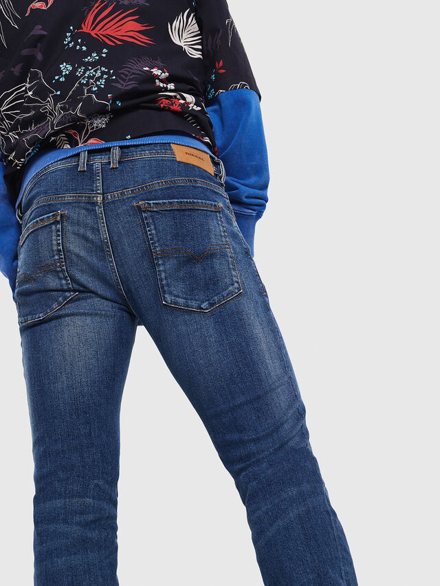 Diesel - Sleenker 069AJ, Medium blue - Jeans - Image 3