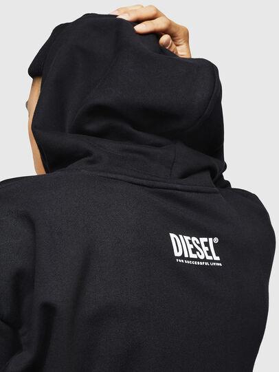 Diesel - S-ALBY-B6, Black - Sweaters - Image 4