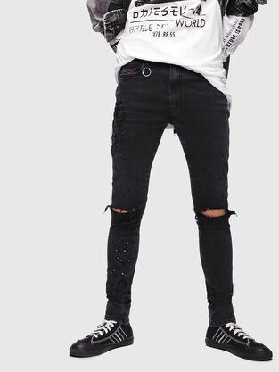 D-Istort 085AW, Black/Dark grey - Jeans