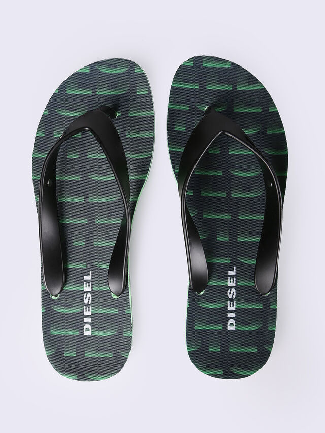 SPLISH, Green/azure