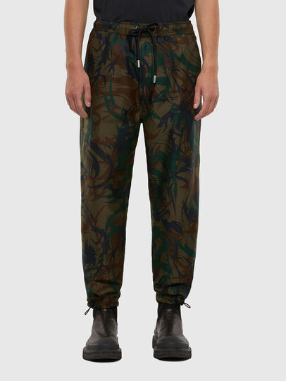 Diesel - P-TRIBE, Military Green - Pants - Image 1