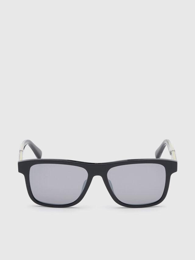 Diesel - DL0279, Black/Yellow - Sunglasses - Image 1