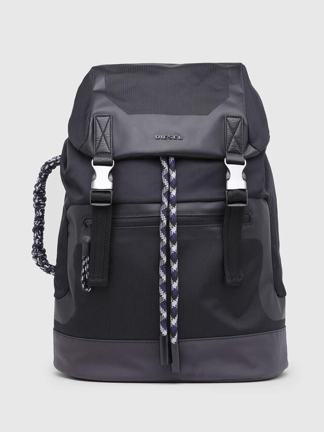 Diesel - SUSE BACK, Black - Backpacks - Image 1
