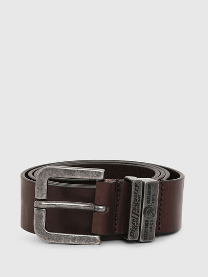 Diesel - B-BAC, Dark Brown - Belts - Image 1