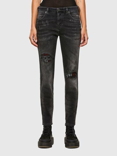 Diesel - Babhila 009JN, Black/Dark grey - Jeans - Image 1