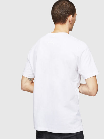 Diesel - T-JUST-A12, White - T-Shirts - Image 2