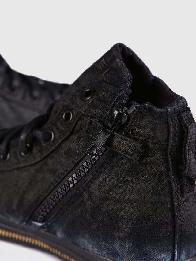 KIDS SN MID 30 EXPOSURE Z, Black/Blue - Footwear - Image 5