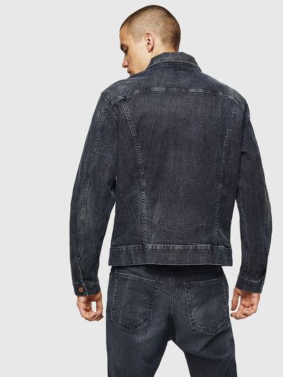 Diesel - D-ROKU JOGGJEANS, Dark Blue - Denim Jackets - Image 2