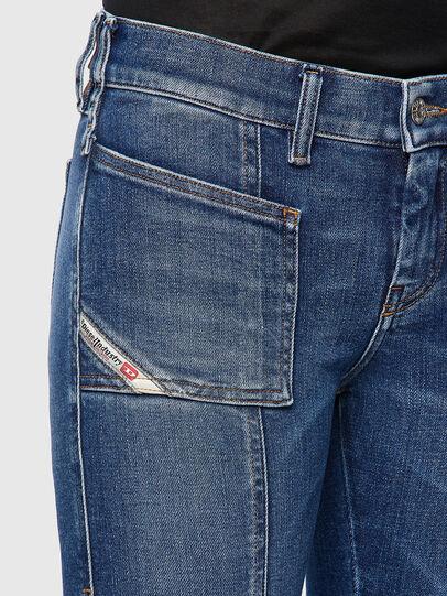 Diesel - Slandy 009ZW, Medium blue - Jeans - Image 4