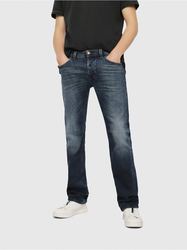 Diesel - Larkee 087AS, Dark Blue - Jeans - Image 1