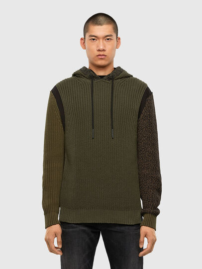 Diesel - K-CAREY, Military Green - Knitwear - Image 1
