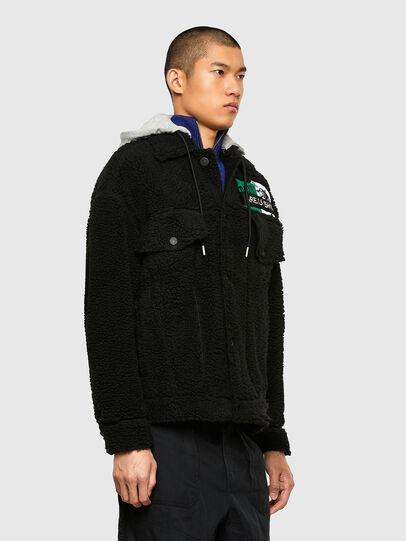 Diesel - W-GARY, Black - Winter Jackets - Image 7