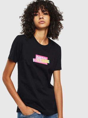 T-SILY-S2, Black/Pink - T-Shirts