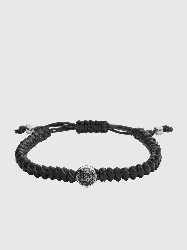 Diesel - BRACELET DX1043, Black - Bracelets - Image 1