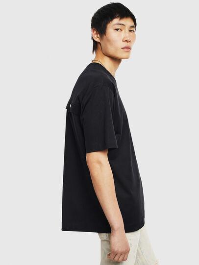 Diesel - T-TIGE, Black - T-Shirts - Image 4