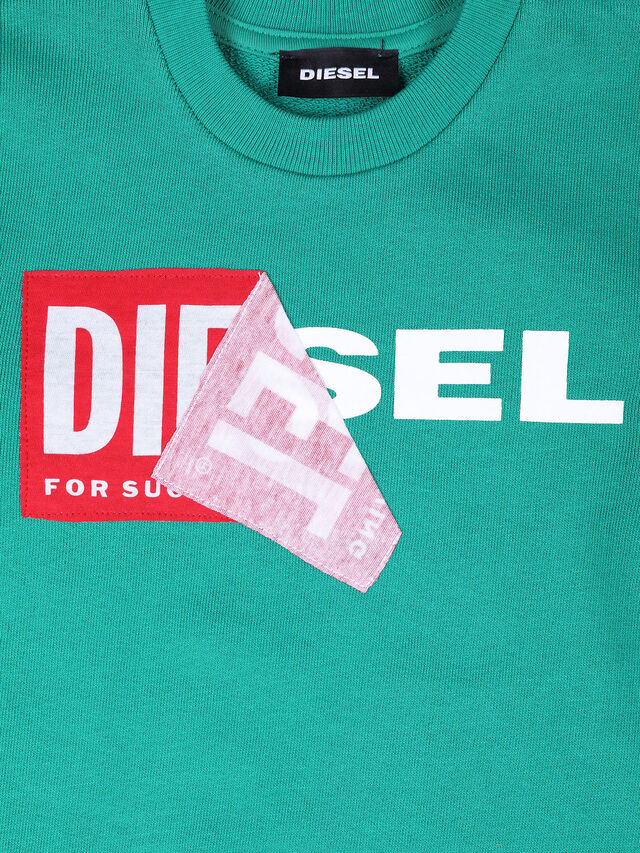 Diesel - SALLIB-R, Water Green - Sweaters - Image 3