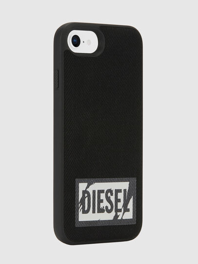 Diesel - BLACK DENIM IPHONE 8/7/6S/6 CASE, Black - Cases - Image 5