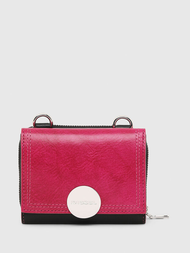 LORY, Pink/Black - Small Wallets