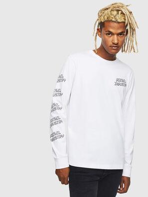 T-DIEGO-LS-J1, White - T-Shirts