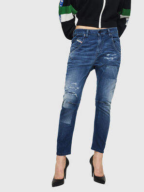 Fayza JoggJeans 069HB, Medium blue - Jeans