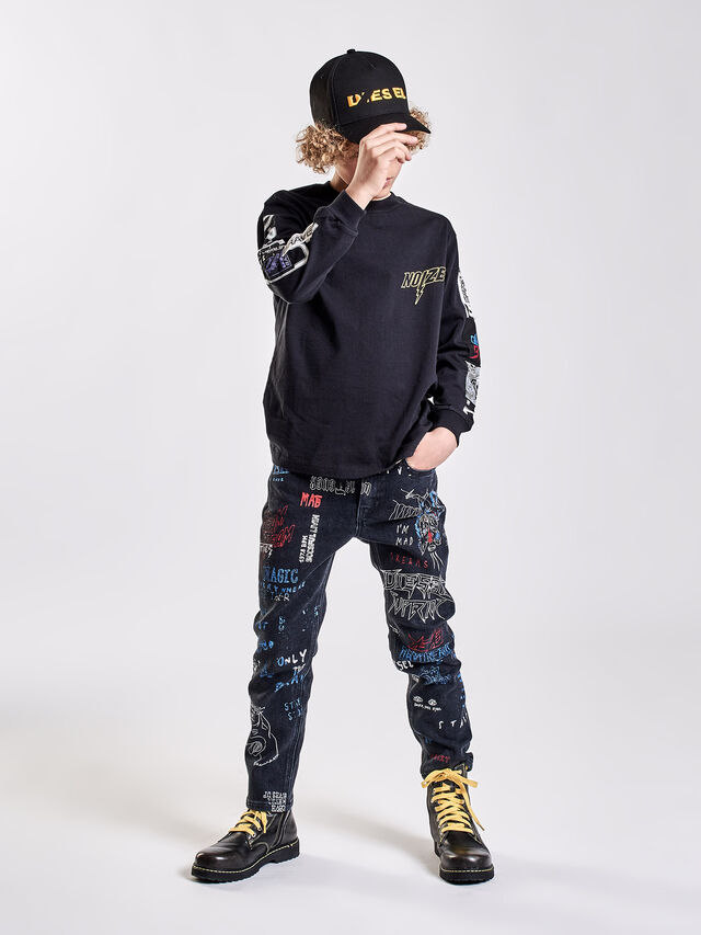 Diesel - REEN-J-N, Black Jeans - Jeans - Image 5