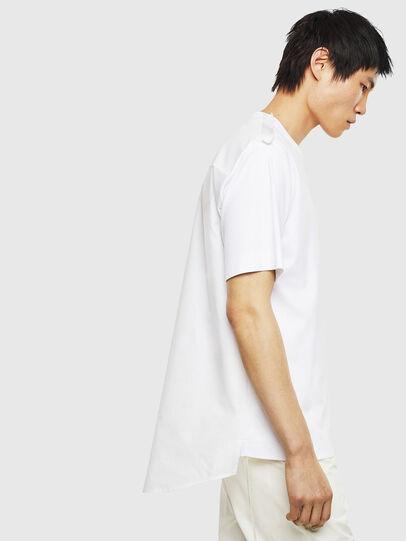 Diesel - T-ZAFIR, White - T-Shirts - Image 4
