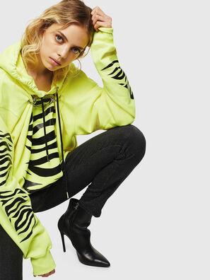 F-ALBYHOOK-C, Yellow Fluo - Sweaters