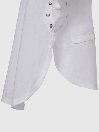 Diesel - C-SUPER-E, White - Shirts - Image 6