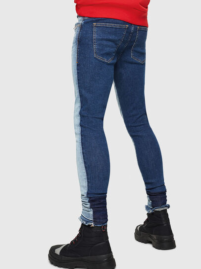 Diesel - D-Istort 085AU, Medium blue - Jeans - Image 3