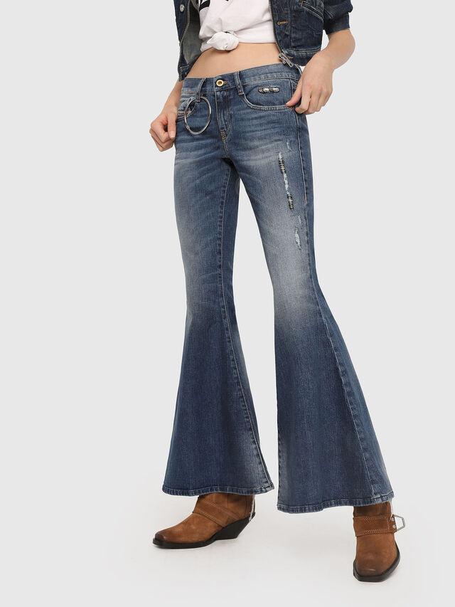 Diesel - D-Ferenz 081AN, Medium blue - Jeans - Image 1