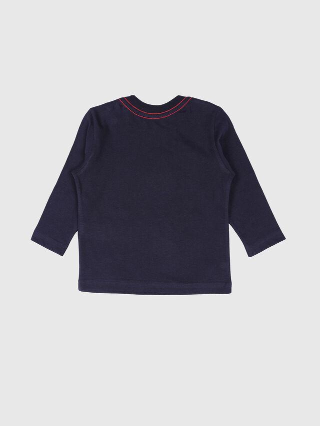 Diesel - TOQUEB, Navy Blue - T-shirts and Tops - Image 2