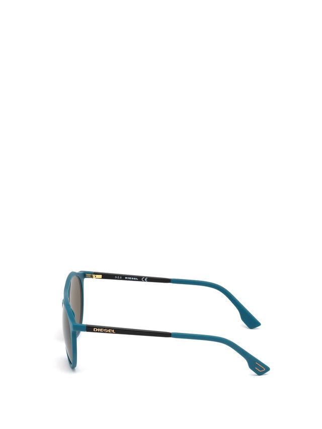 Diesel DM0195, Blue - Eyewear - Image 3