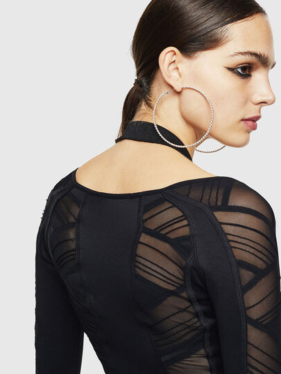 Diesel - DECH, Black - Dresses - Image 4
