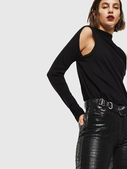 Diesel - Slandy 0094S, Black/Dark grey - Jeans - Image 5