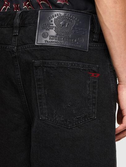 Diesel - D-STRUKT-SHORT, Black/Dark grey - Shorts - Image 4